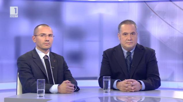 """Дебат в """"Още от деня"""" – Слави Бинев и Ангел Джамбазки"""