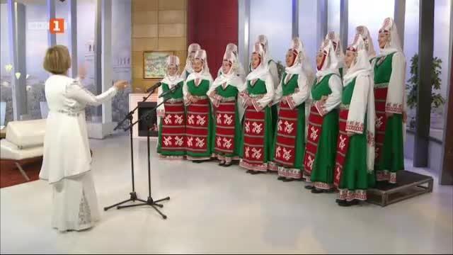 Изпълнение на хор Ваня Монева