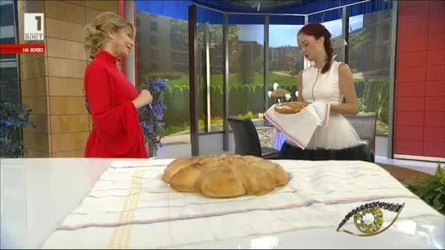 Символите в обредните хлябове