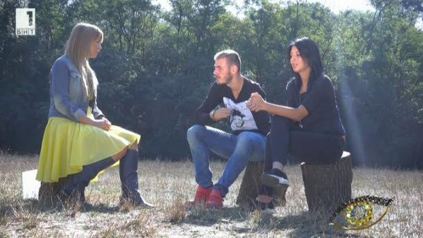 """Михаил и Ангелина в едно """"Интервю в парка"""""""