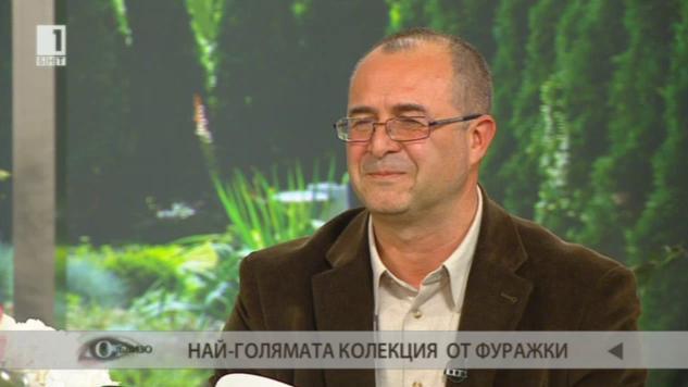Единственият колекционер на фуражки в България доц. Людмил Георгиев