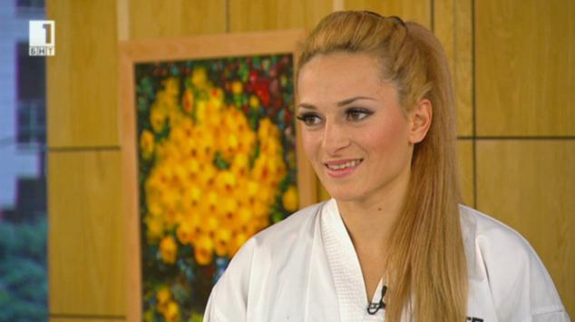 Отблизо: световният шампион по кикбокс – Албена Малчева