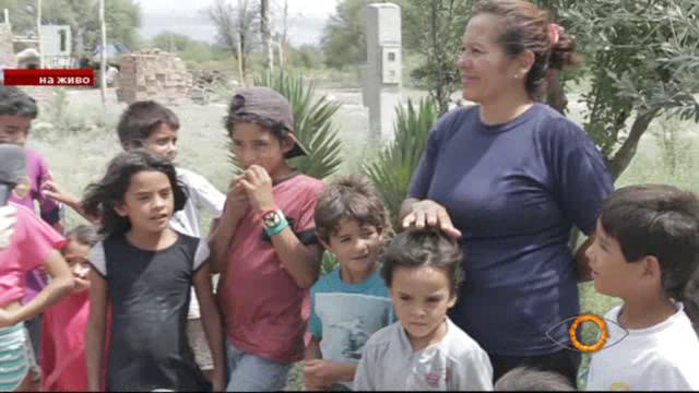 Как живее 42-годишната Мари, с нейните девет деца и 14 внука?