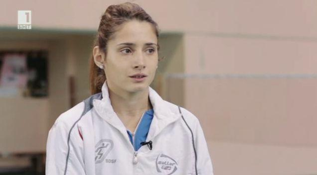 Олимпийската шампионка по бадминтон Гергана Баръмова