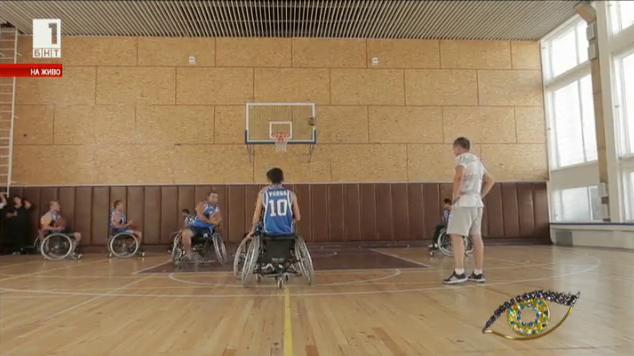 Историята на варненския отбор по баскетбол в инвалидни колички