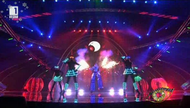 Лазерно шоу Андромега - спектакъл от бъдещето