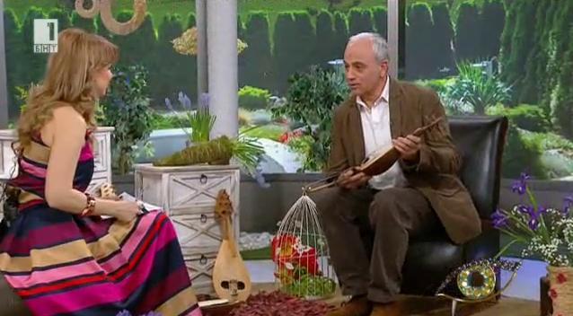 Пазителят на традициите Ангел Добрев и неговата гъдулка на 110 години