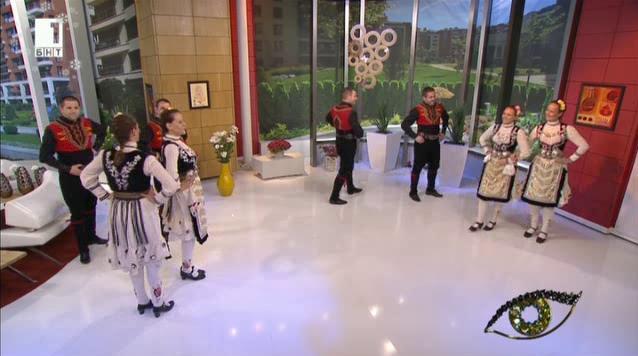 Неврокопските танцьори за мъжкото присъствие в българската народна музика
