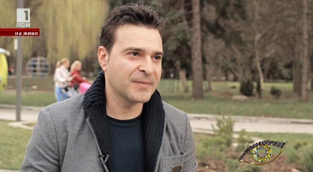 Интервю в парка: Слави Ангелов