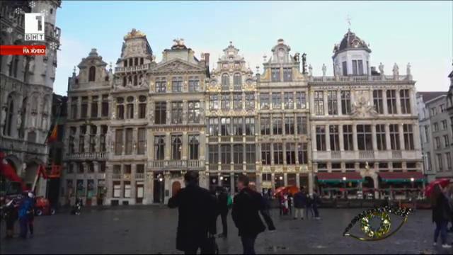 Площадът Гран Плас в Брюксел