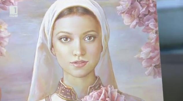 Модерни момичета като възрожденски моми - изкуството на Мария Илиева