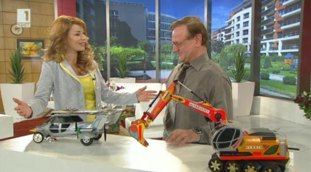 Изобретателят Иван Кръстев и колата на бъдещето