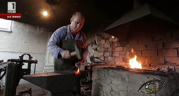 Бай Стефан от село Крън - последният ковач в Розовата долина
