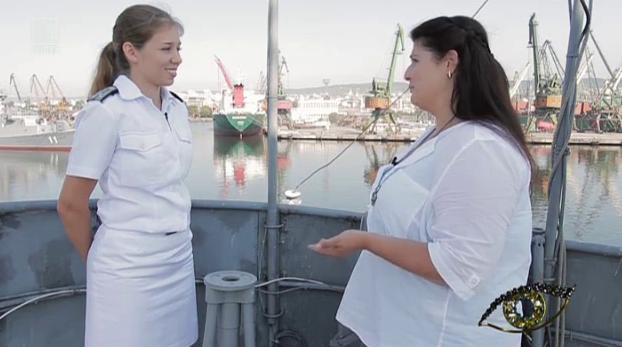На борда има място за жени - среща със ст.л-т Ирина Денева