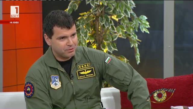 Кап. Николай Георгиев за професията на авиогрупата за пренасяне на органи за трансплантация