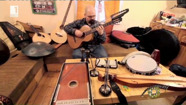 Отблизо: Петър Делчев - музикален ентусиаст с невероятна колекция от инструменти от всички страни и епохи