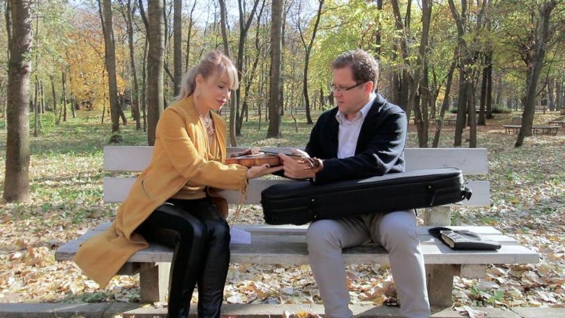 """Специален гост за """"Интервю в парка"""" - Веско Пантелеев-Ешкенази"""