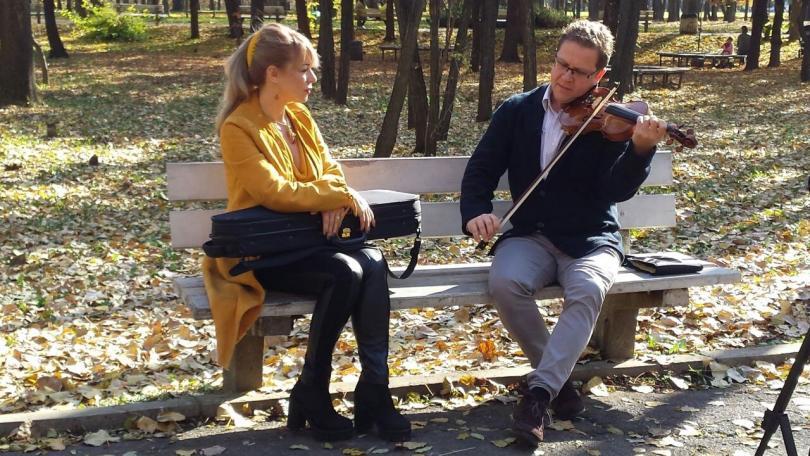 Интервю в парка с Веско Ешкенази