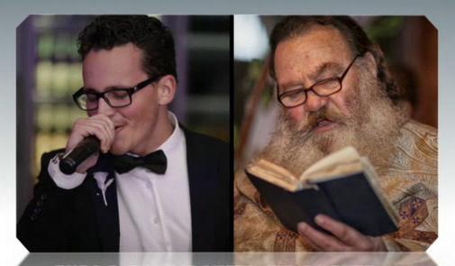 Един нетипичен дует: Велин Михайлов и отец Георги