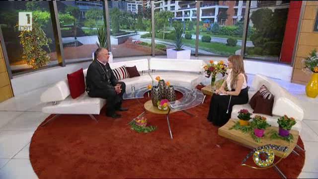 На Велика събота с отец Боян Саръев