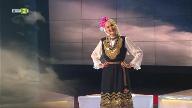 Румяна Алексова - народната певица от живописния трънски край