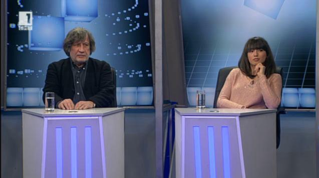 Досието Петров – режисьорът Георги Балабанов и актрисата Анжела Недялкова
