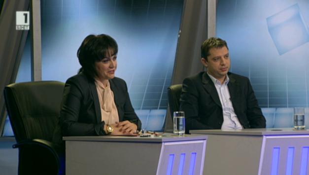 Разговорът за парите - Корнелия Нинова и Делян Добрев