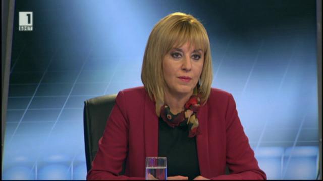 Мая Манолова за проблемите вляво и Изборния кодекс