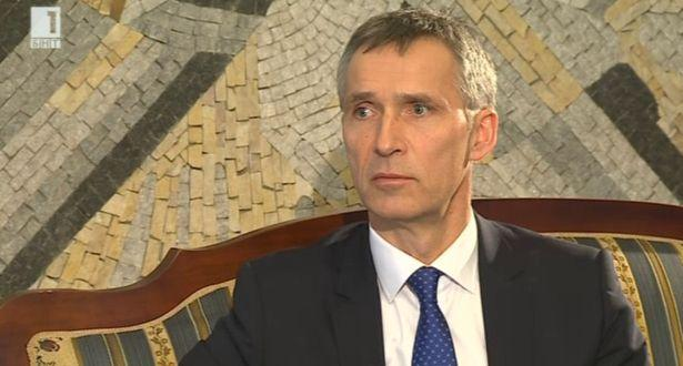 Разговор с генералния секретар на НАТО Йенс Столтенберг