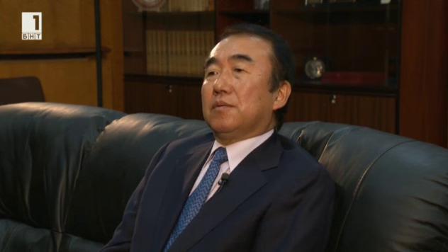 Японският посланик Такаши Коидзуми