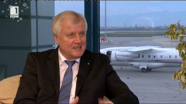 Интервю с баварския премиер Хорст Зеехофер
