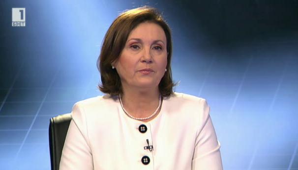 Министър Бъчварова: Протестите доведоха до изясняване на отношенията с полицаи и синдикати
