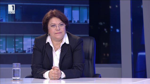 Кандидатът за президент Татяна Дончева
