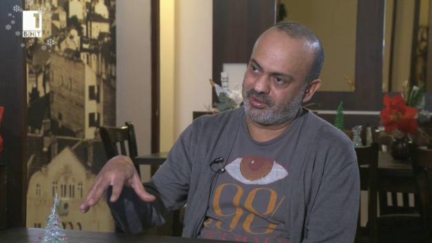 """""""Светът отчаяно се нуждае от добри хора"""". Иракският писател Хасан Бласим"""