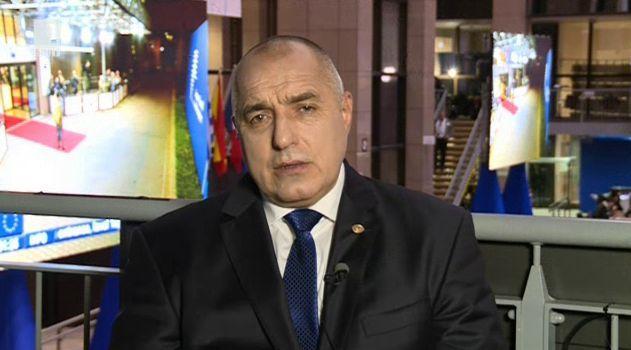 Борисов: Аз не влизам във войни никога