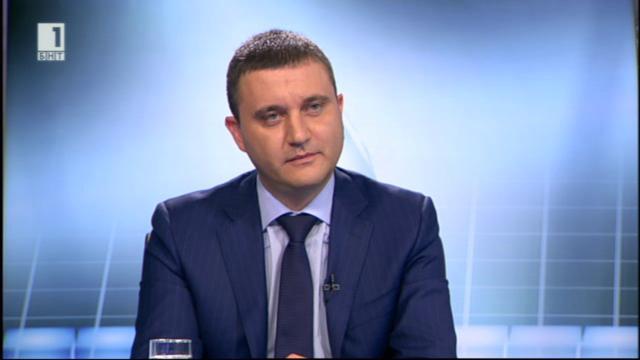 Владислав Горанов: Приходите все още са по-малко от разходите в годишен план
