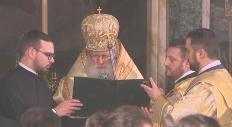 Празнично богослужение за Бъдни вечер от храм Свети Александър Невски