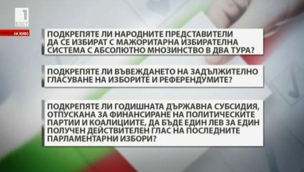 Мажоритарната система в България - невъзможна?