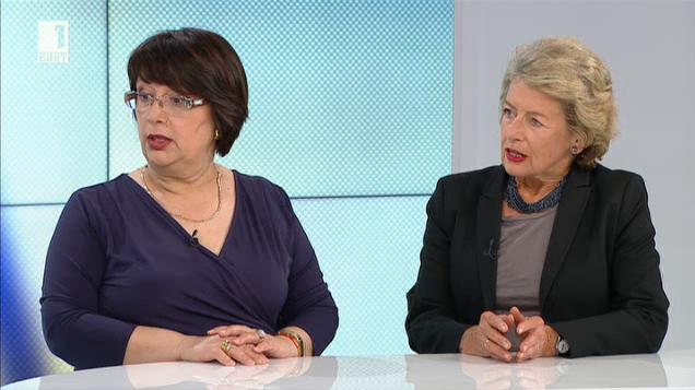 Лизе Качинка и Мариана Хил за ролята на преводача в ЕС
