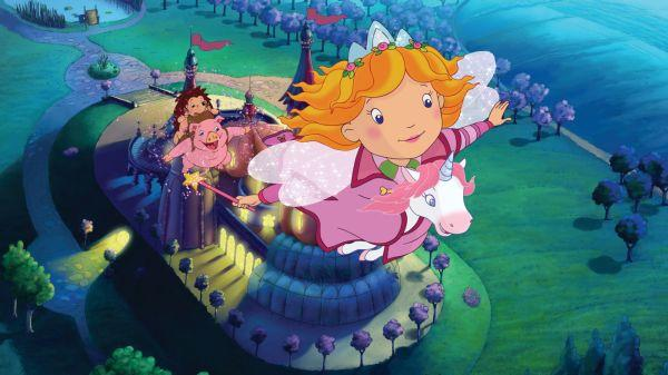 Принцеса Лилифее и малкият еднорог