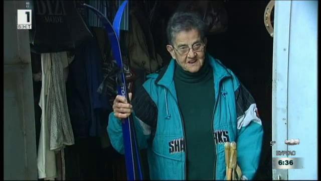 81-годишна скиорка кандидатства за рекордите на Гинес