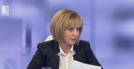 Мая Манолова критикува мотивите на президента за частично вето върху Изборния кодекс