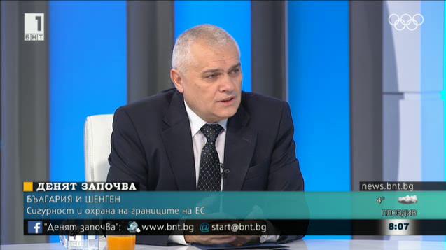 Валентин Радев: Миграционният натиск е нулев