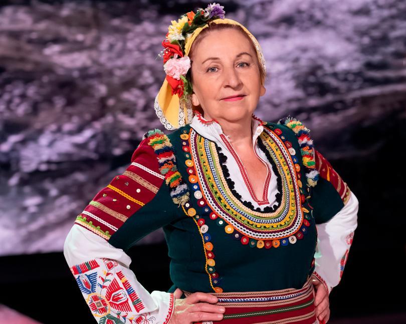 Народната певица Радка Алексова