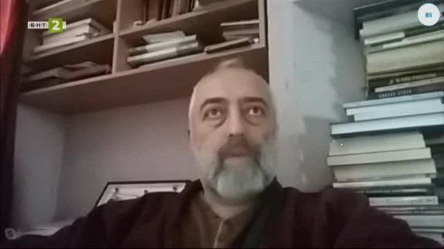 Художникът Онник Каранфилян за проекта си Хаос и ред