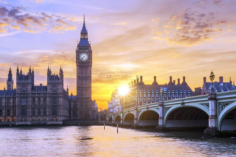 Биг Бен - един от символите на Лондон