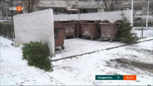 Рециклиране на коледни елхи