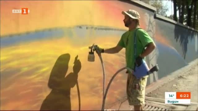 Уличното изкуство в Мездра