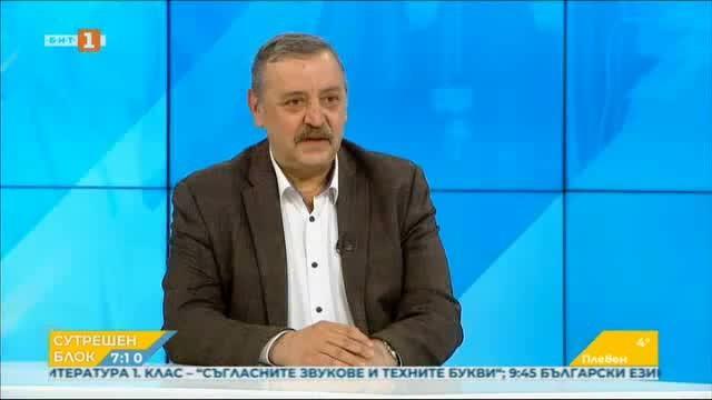 Проф. Кантарджиев: Ще достигнем пикът следващите дни, справяме се много добре