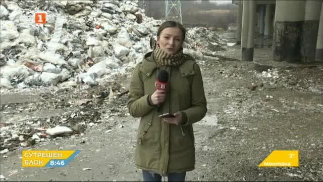 Отново тонове отпадъци в непосредствена близост до  АМ Струма край Дупница